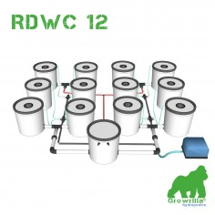 Sistema Idroponico RDWC 12